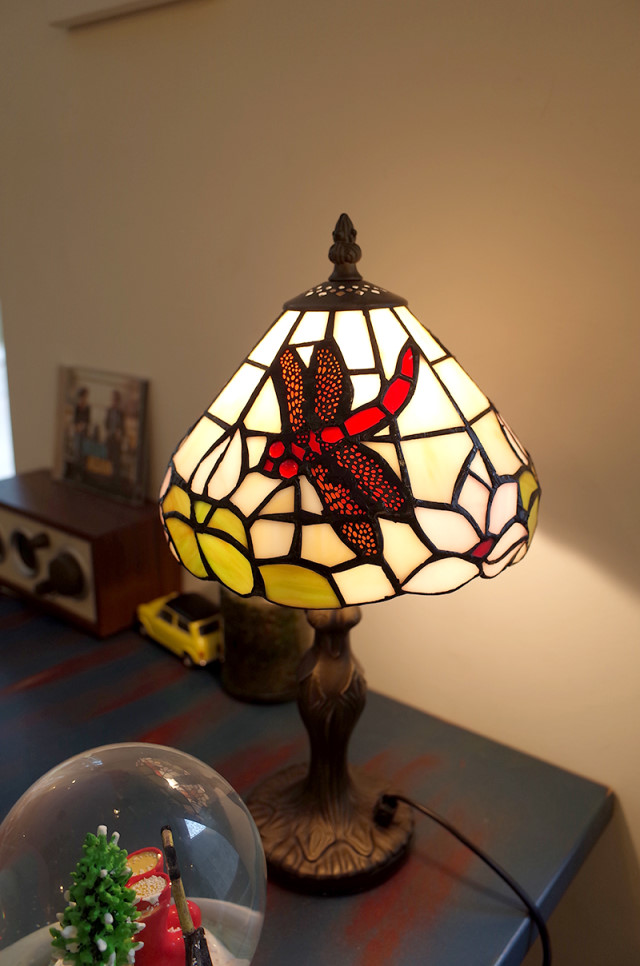Handemade Vintage Stained Glass Stand No.25